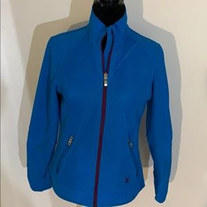 Spyder zip up jacket with matching gloves set